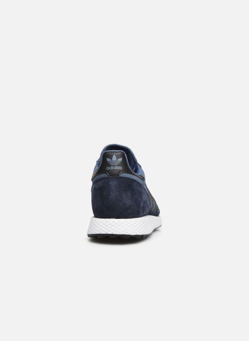 Sneakers adidas originals Forest Grove Blauw rechts