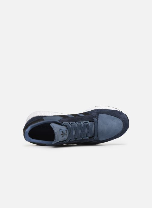 Trainers adidas originals Forest Grove Blue view from the left