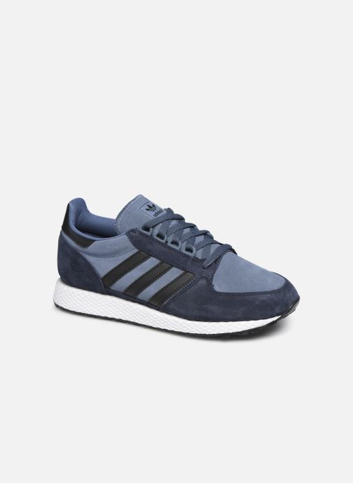 Trainers adidas originals Forest Grove Blue detailed view/ Pair view