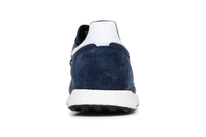 Baskets Adidas Originals Forest Grove Bleu vue droite