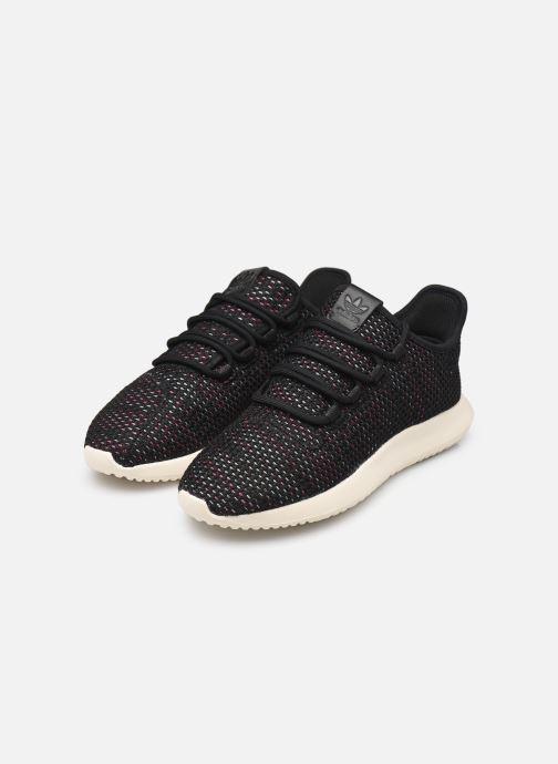 Sneaker adidas originals Tubular Shadow Ck W schwarz ansicht von unten / tasche getragen