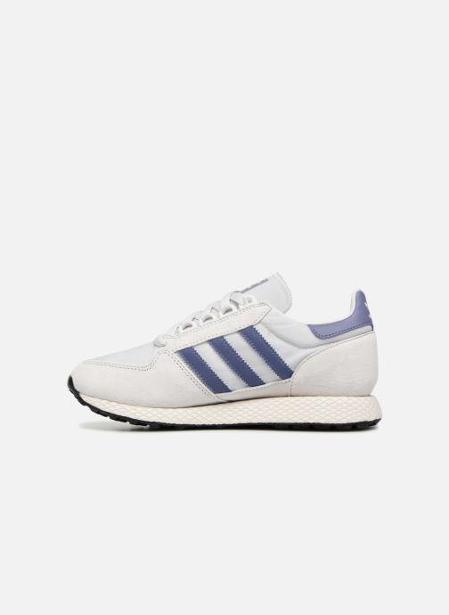 Sneaker adidas originals Forest Grove W grau ansicht von vorne
