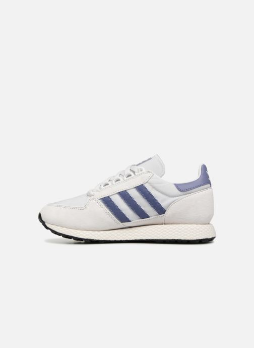 Trainers adidas originals Forest Grove W Grey front view