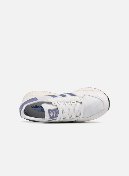 Sneaker adidas originals Forest Grove W grau ansicht von links