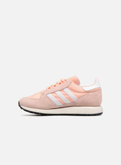 Sneaker adidas originals Forest Grove W rosa ansicht von vorne