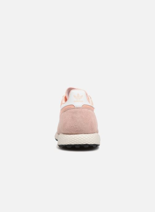 Trainers adidas originals Forest Grove W Pink view from the right