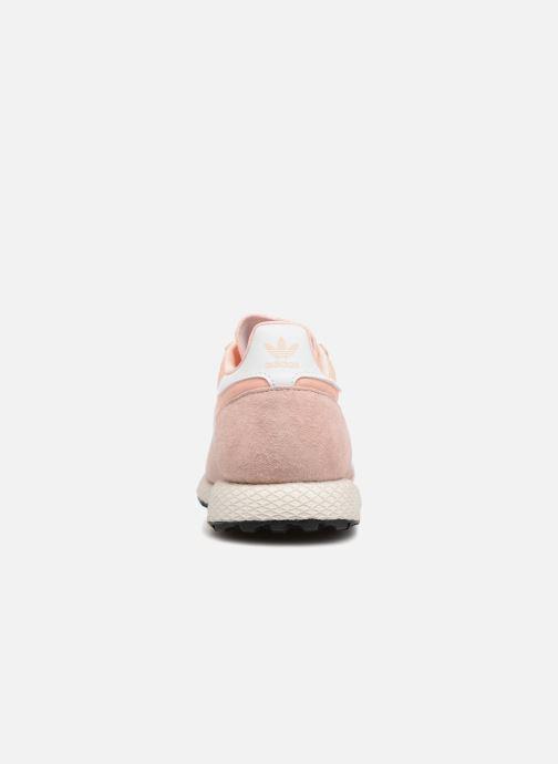 Sneaker adidas originals Forest Grove W rosa ansicht von rechts