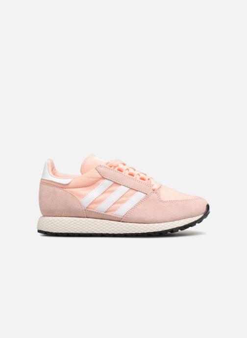 Sneaker Adidas Originals Forest Grove W rosa ansicht von hinten