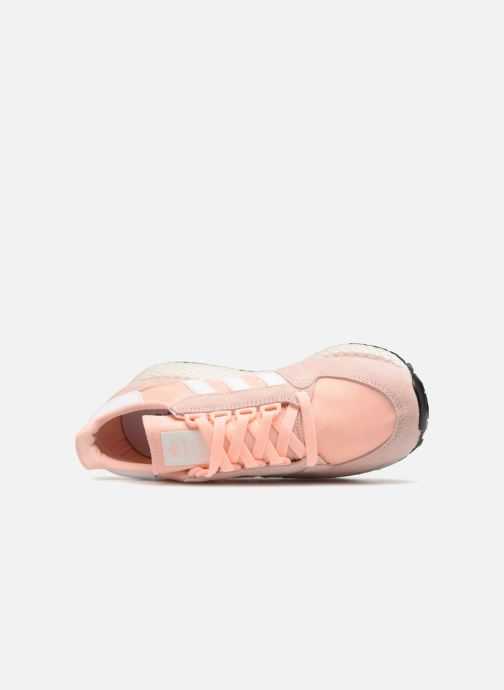 Trainers adidas originals Forest Grove W Pink view from the left