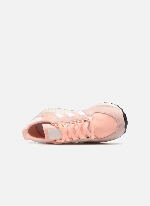 Sneaker adidas originals Forest Grove W rosa ansicht von links