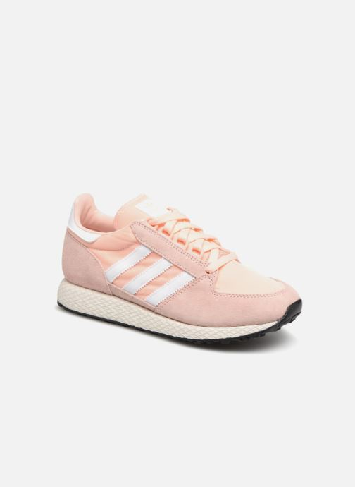 Trainers adidas originals Forest Grove W Pink detailed view/ Pair view