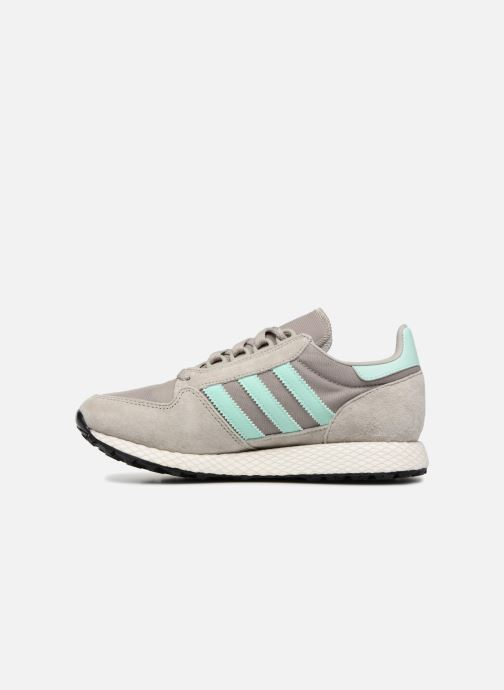 Deportivas adidas originals Forest Grove W Gris vista de frente