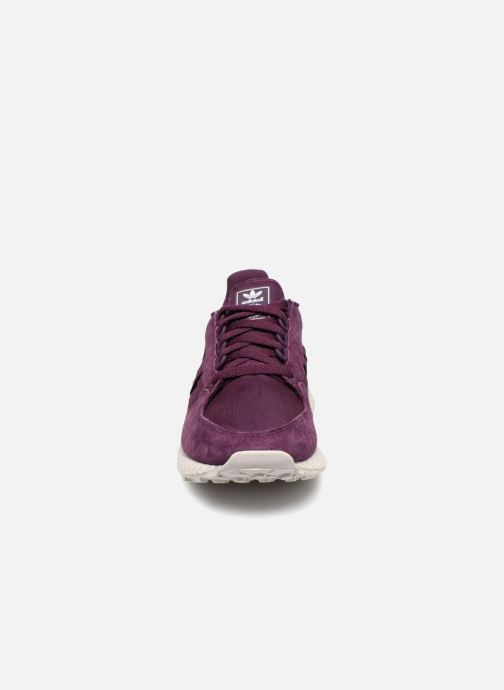 Trainers adidas originals Forest Grove W Purple model view