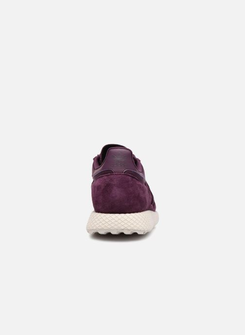 Trainers adidas originals Forest Grove W Purple view from the right