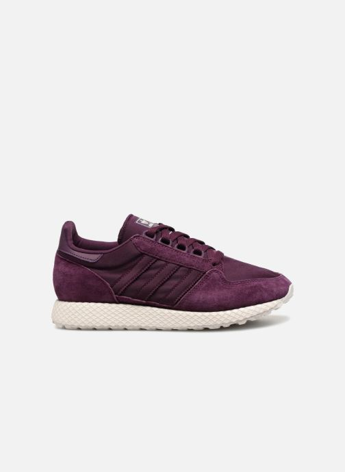 Trainers adidas originals Forest Grove W Purple back view