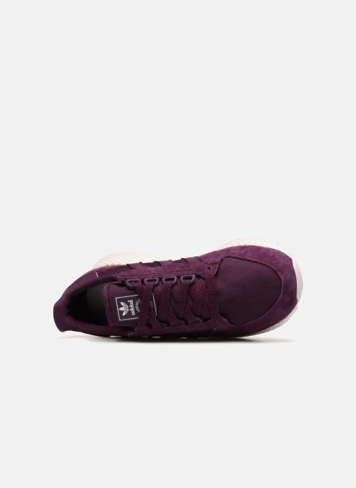 Trainers adidas originals Forest Grove W Purple view from the left