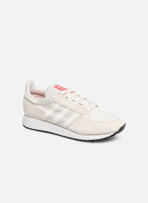 Trainers adidas originals Forest Grove W White detailed view/ Pair view