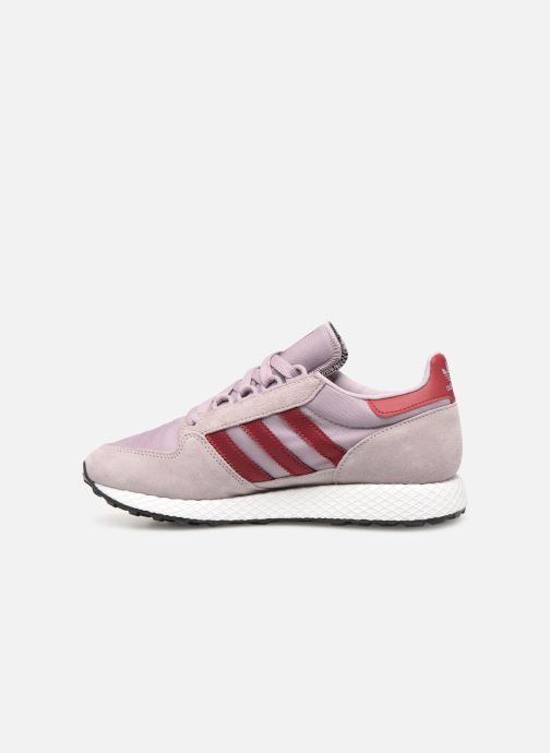 Trainers adidas originals Forest Grove W Purple front view