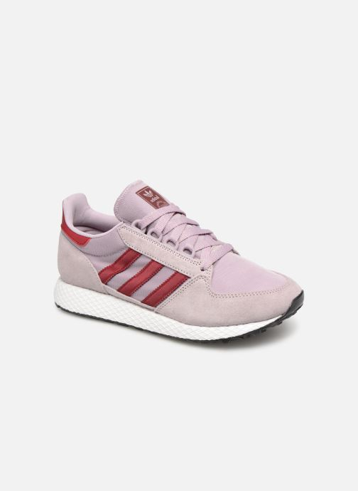 Trainers adidas originals Forest Grove W Purple detailed view/ Pair view