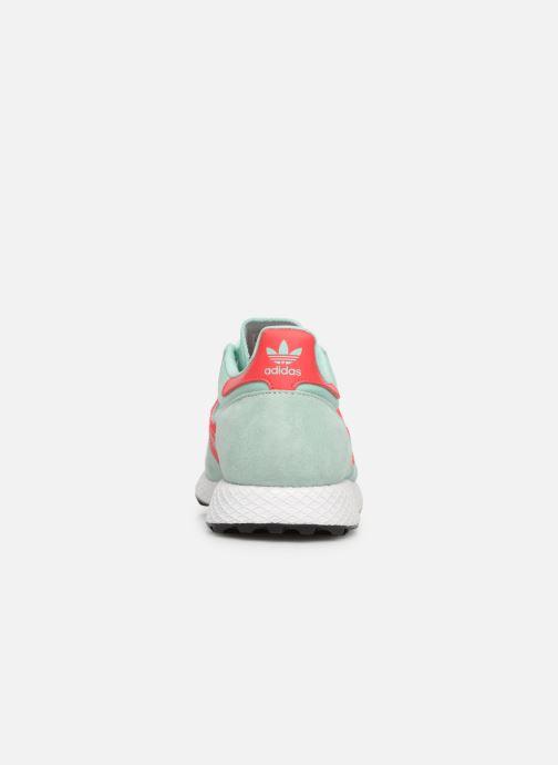 Sneaker adidas originals Forest Grove W blau ansicht von rechts