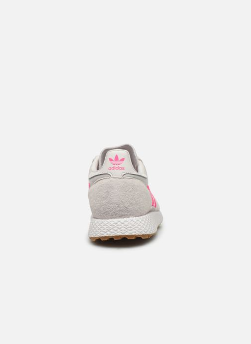 Baskets adidas originals Forest Grove W Rose vue droite