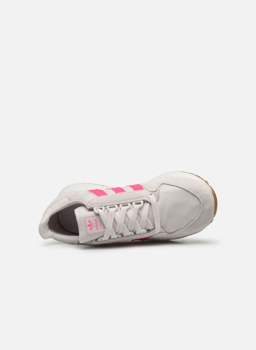 Baskets adidas originals Forest Grove W Rose vue gauche
