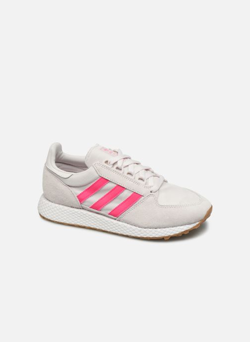 Baskets adidas originals Forest Grove W Rose vue détail/paire