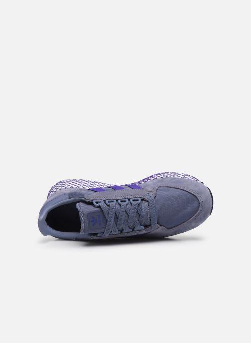Baskets adidas originals Forest Grove W Bleu vue gauche