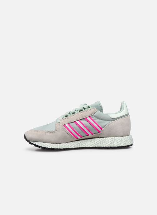 Sneakers adidas originals Forest Grove W Verde immagine frontale