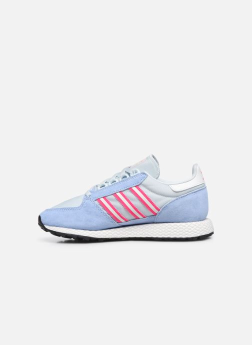 Baskets adidas originals Forest Grove W Bleu vue face