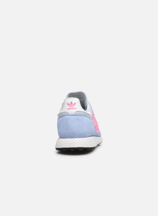 Sneakers adidas originals Forest Grove W Azzurro immagine destra