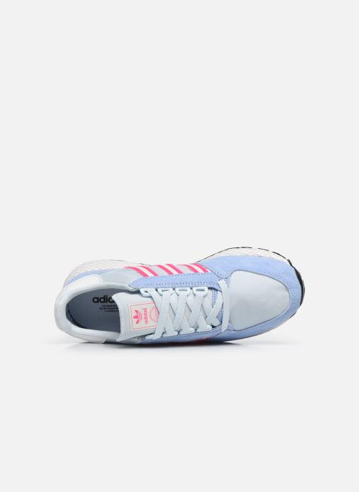 Sneakers adidas originals Forest Grove W Azzurro immagine sinistra