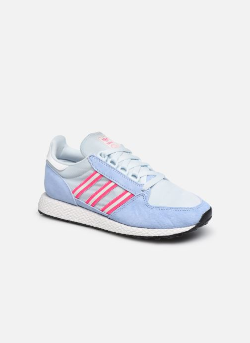 Baskets adidas originals Forest Grove W Bleu vue détail/paire