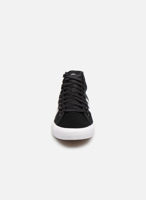 Sneaker Adidas Originals Matchcourt High Rx schwarz schuhe getragen