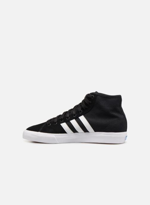 Sneaker Adidas Originals Matchcourt High Rx schwarz ansicht von vorne