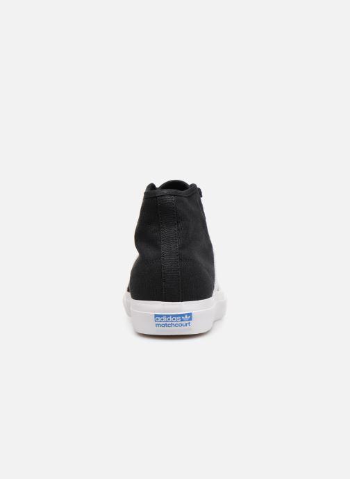 Sneaker Adidas Originals Matchcourt High Rx schwarz ansicht von rechts