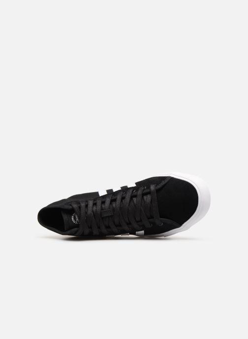 Sneaker Adidas Originals Matchcourt High Rx schwarz ansicht von links