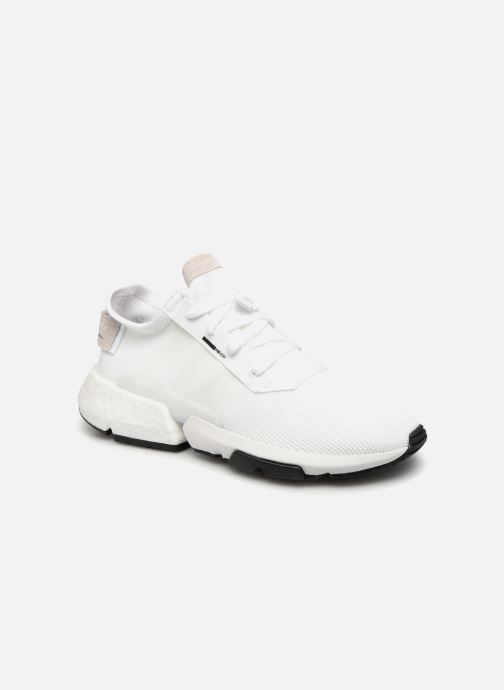 Baskets adidas originals Pod-S3.1 Blanc vue détail/paire