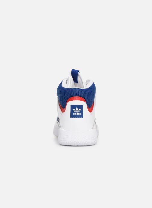 Sneakers adidas originals Vrx Mid Vit Bild från höger sidan