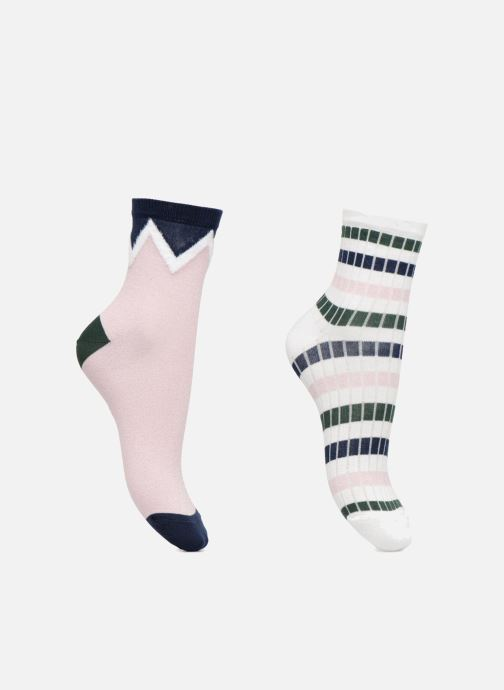 Socks & tights Sarenza Wear Chaussette Femme graphique Coton Multicolor detailed view/ Pair view
