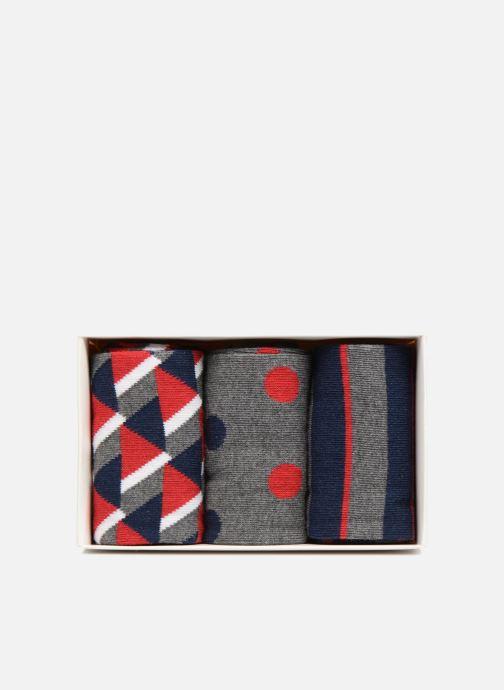 Chaussettes et collants Sarenza Wear Coffret de 3 Chaussettes Homme Noël Multicolore vue face