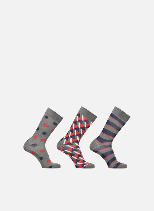 Chaussettes et collants Sarenza Wear Coffret de 3 Chaussettes Homme Noël Multicolore vue détail/paire