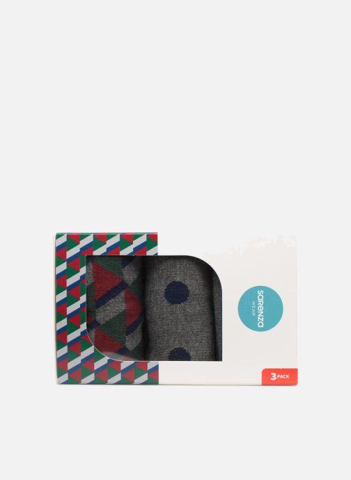 Calze e collant Sarenza Wear Coffret de 3 Chaussettes Homme Noël Multicolore modello indossato