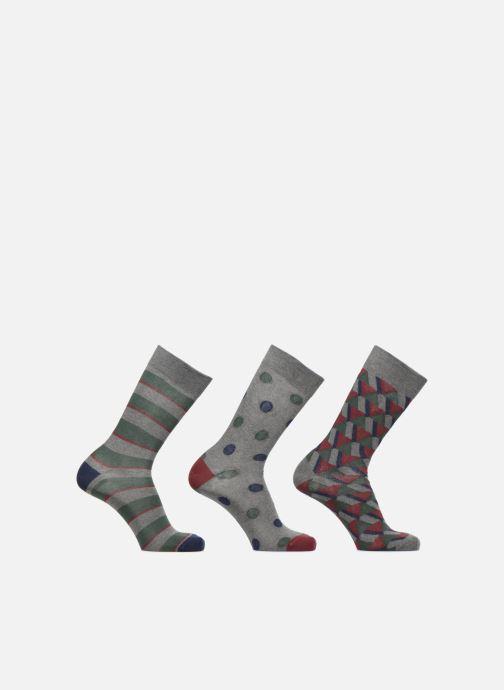 Chaussettes et collants Sarenza Wear Coffret de 3 Chaussettes Homme Noël  Multicolore vue détail paire e83a0f092cf9