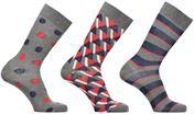 Sokken en panty's Accessoires Coffret de 3 Chaussettes Homme Noël