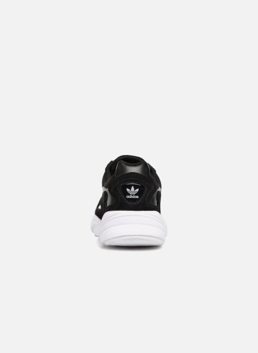 Sneaker Adidas Originals Falcon W schwarz ansicht von rechts
