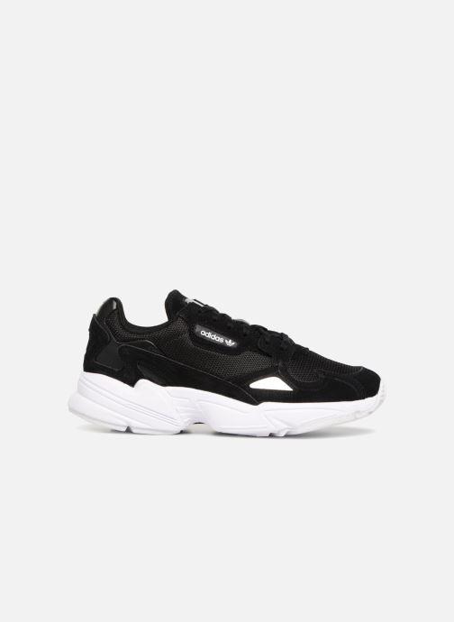 Sneaker Adidas Originals Falcon W schwarz ansicht von hinten