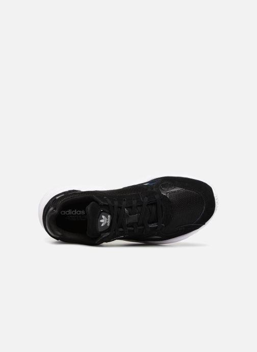 Sneaker adidas originals Falcon W schwarz ansicht von links