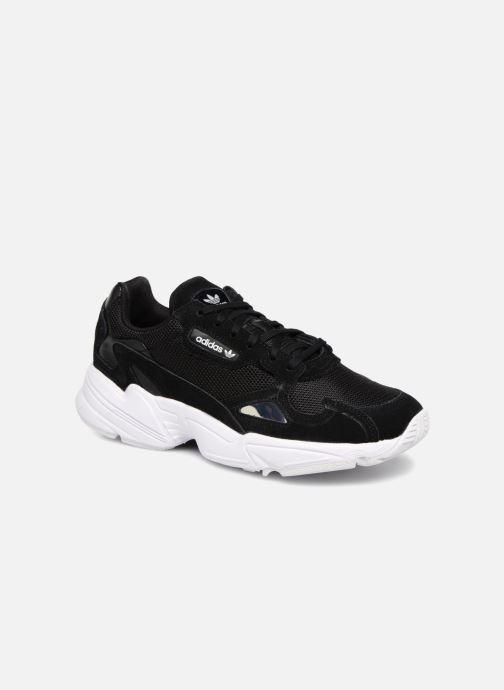 Sneakers adidas originals Falcon W Sort detaljeret billede af skoene