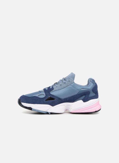 Baskets adidas originals Falcon W Gris vue face